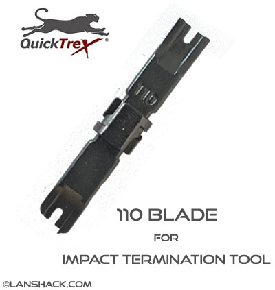 110 Blade for Impact Termination Tool by QuickTreX®