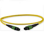 Custom MTP/MPO Singlemode 12 Fiber Cable - Plenum Rated - made in USA by QuickTreX