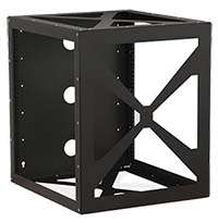 12U Side Load Wall Mount Rack