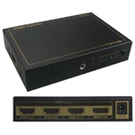 HDMI 1 In 4 Out Splitter w/IR Extension and 3D Capability
