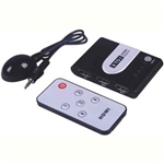3x1 HDMI® Switch with IR Extension
