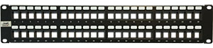 QuickTreX® 48 Port Keystone Blank Patch Panel (2-RU)