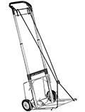 770-3 Heavy Duty Telescoping 3 Stage Hand Truck Utility Cart