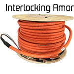 Pre-Terminated Interlock Armor Fiber Optic Cable Assemblies