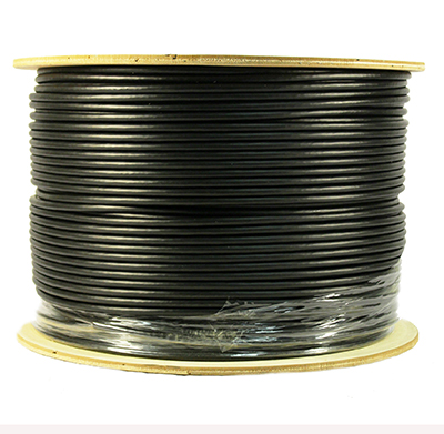 Cat 5E 350 Shielded (STP), Direct Bury, CMX, Solid Cond. Cable - 1000 Ft by ABA Elite