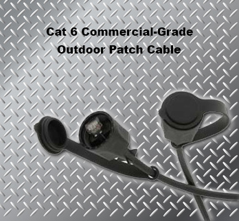 150 Ft Cat 6 Commercial-Grade Outdoor Patch Cable
