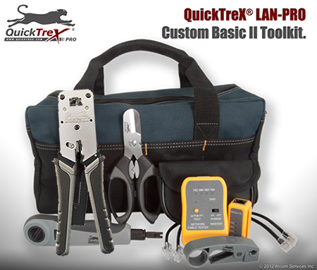 QuickTreX® LAN-PRO Custom Basic II Electro-Tech Toolkit