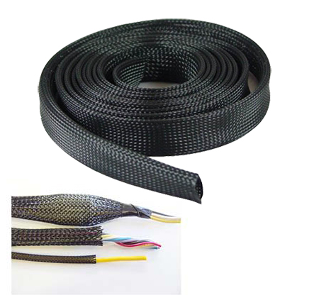 "Expandable Braided Cable Sock 1"" x 50ft"