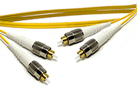 FC to FC Singlemode Duplex Fiber Optic Patch Cable