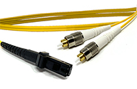 MT-RJ to FC Singlemode Fiber Optic Patch Cable