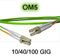 7 Meter LC to LC OM5 (50/125) - 10/40/100/400 GIG Multimode Duplex Patch Cable - Plenum Rated - USA CustomLine by QuickTreX®