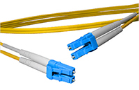LC to LC Singlemode Duplex Fiber Optic Patch Cable