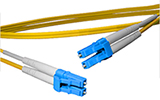9 meter LC to LC, 9/125, Singlemode Duplex Patch Cable - Plenum Rated - USA CustomLine by QuickTreX®