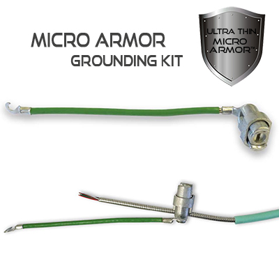 Micro Armor Grounding Kit for 48 through 144 Strand Micro Armor Fiber Optic Cable