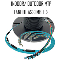 MTP Indoor/Outdoor Fanout Cable