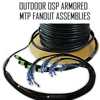 MTP Outdoor Fanout Cable