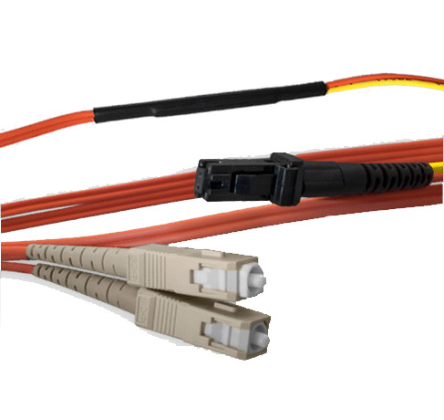 50 meter MT-RJ (equip.) to SC Mode Conditioning Cable