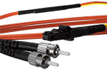 MT-RJ (equip.) to ST Mode Conditioning Cable