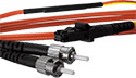 25 meter MT-RJ (equip.) to ST Mode Conditioning Cable