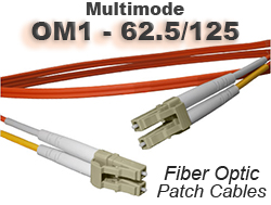 OM1 Fiber Optic Patch Cable