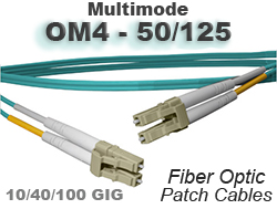 OM4 Patch Cables