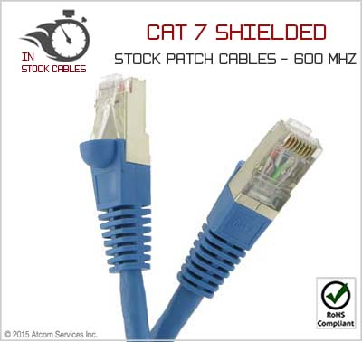 70 Ft Cat 7 Double Shielded Patch Cable