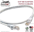 85 Ft Cat 5E Custom Patch Cable
