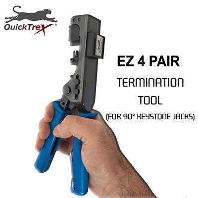 "/""QuickTreX® Professional /""Wire Surgeon®/"" RJ-45 Crimper/"", RJ-45 Crimping Tool"