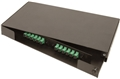 2 Panel (1U) Rack Mount Termination Box Enclosure LGX Chassis by Multilink®