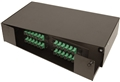 4 panel (2U) Rack Mount Termination Box Enclosure LGX Chassis by Multilink®