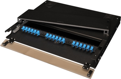 3 panel Rack Mount Termination Box