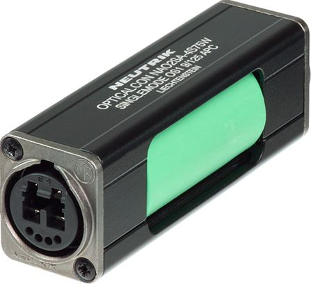 OpticalCON DUO Singlemode APC Inline Coupler