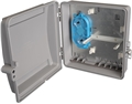 2 Panel Outdoor Wall Mount Termination Box Enclosure LGX Chassis by Multilink®