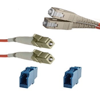 QuickTreX Fiber Optic Reference Cable Kit SC (Meter) to LC (Test)