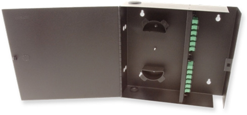 4 Panel Wall Mount Termination Box Enclosure LGX Chassis by Multilink®