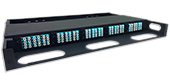Super High Density (SHD) 5 panel (1U) Rack Mount Termination Box Enclosure by QuickTreX