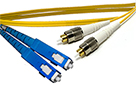 25 meter FC to SC Singlemode Duplex Patch Cable - CustomLine