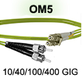SC to SC OM5 Patch Cable