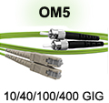 SC to ST OM5 Patch Cable