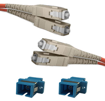 QuickTreX Fiber Optic Reference Cable Kit SC (Meter) to SC (Test)