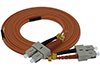 Stock 3 meter SC to SC 62.5/125 OM1 Multimode Duplex Patch Cable