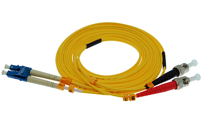 Stock 10 meter LC to ST Singlemode Duplex Patch Cable
