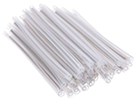 60mm Fiber Optic Splice Sleeves with Steel Rod (100 Pack)