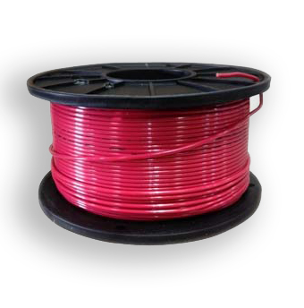 THHN 14AWG Solid Copper Wire - RED -  500ft