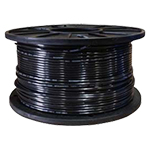 THHN 14AWG Solid Copper Wire - BLACK -  500ft