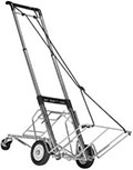 W4 Super Heavy Duty Telescoping Hand Truck Utility Cart - 400lbs Capacity