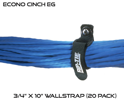 Econo Cinch EG 3/4 x 10 inch Wallstrap 20 Pack