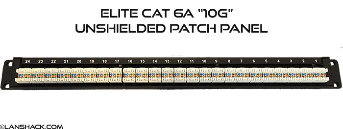 patch panel 24 port patch panel cat 6a patch panel. Black Bedroom Furniture Sets. Home Design Ideas