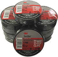 3M™ Temflex™ 1700P General Use Vinyl Electrical Tape - 10 Rolls