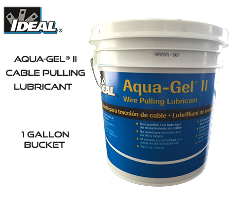 Aqua-Gel® II Cable Pulling Lubricant 1-Gallon Bucket
